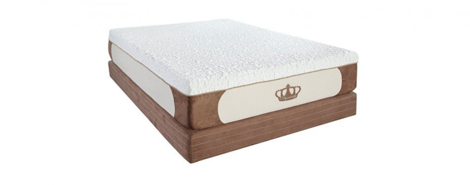 "dynastymattress cool breeze 12"" memory foam mattress"