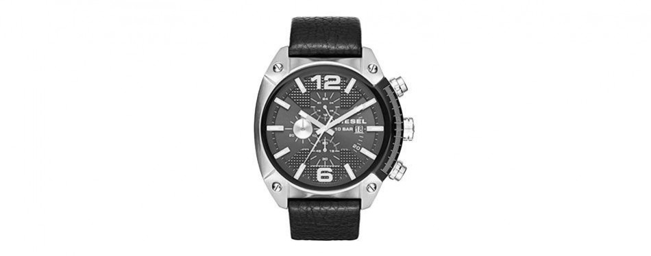 dz4341 diesel leather watch
