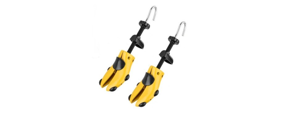 eachway pair of professional 2-way premium shoe stretcher