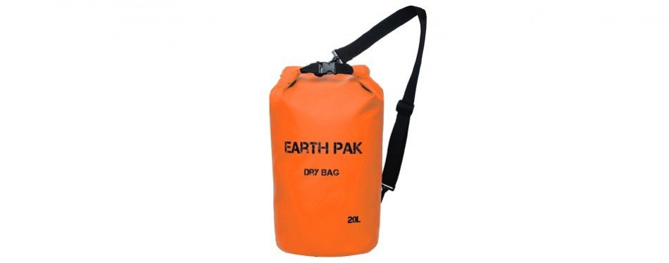 earth pak -waterproof backpack