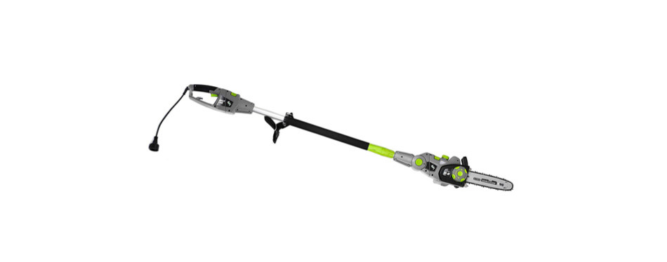 earthwise cvps43010 7-amp 10-inch convertible 2-in-1 polesaw