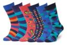easton marlowe men's colorful patterned dress socks