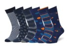 easton marlowe mens patterned dress socks