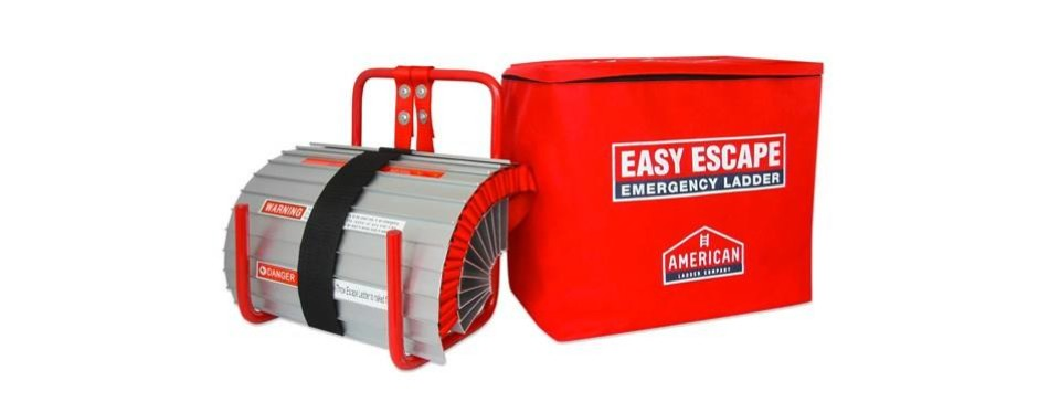 hausse retractable 3 story fire escape ladder,