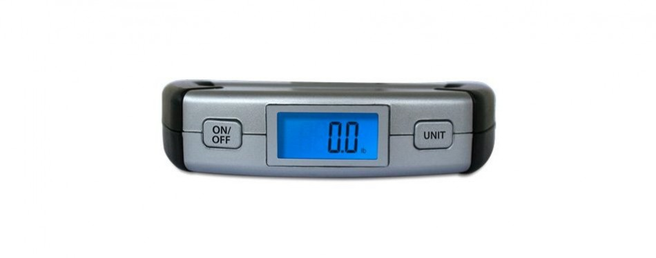 eatsmart precision voyager digital luggage scale