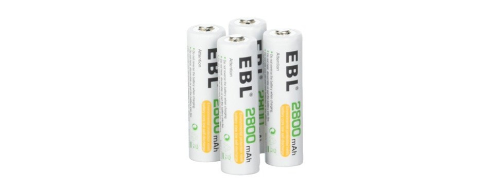 ebl aa 2800mah high performance ni-mh rechargeable batteries