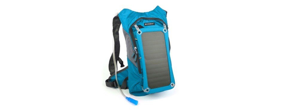 eceen solar powered hiking backpack