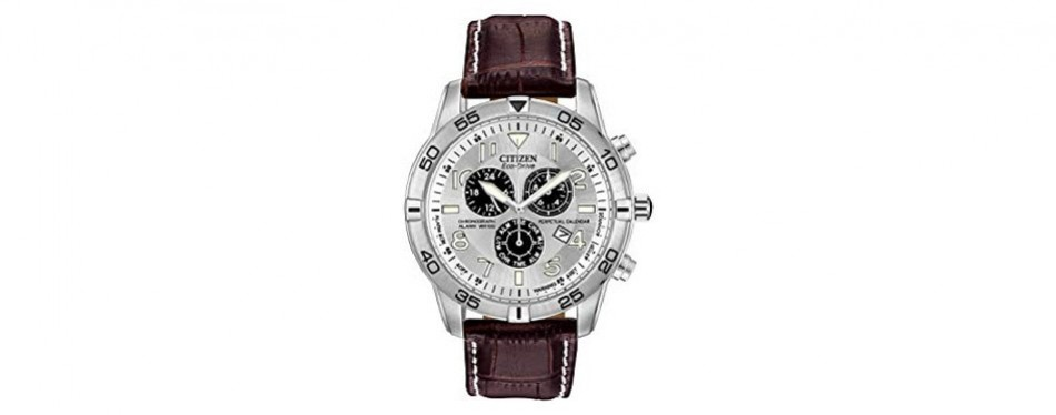 eco-drive perpetual calendar chronograph citizen watch