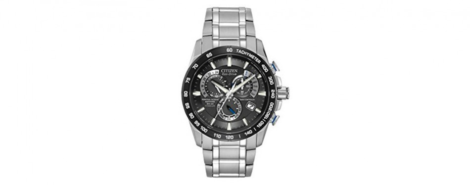 eco-drive titanium perpetual chrono a-t citizen watch