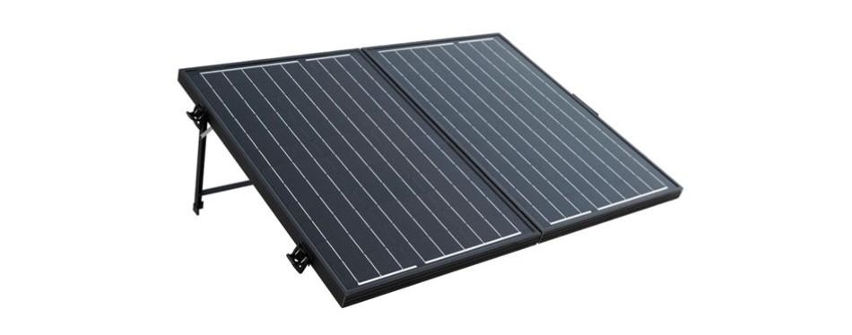 eco-worthy 120 watt 12 volt solar panel suitcase