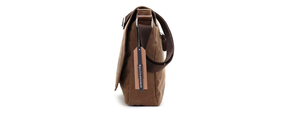 egoelife canvas satchel messenger bag