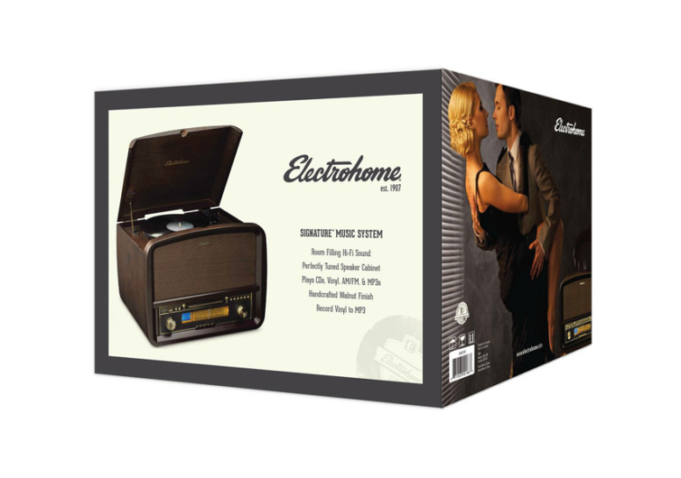 Electrohome Signature Vinyl Stereo System