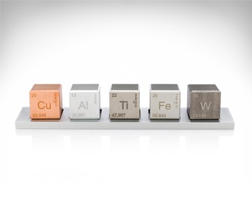 Midwest Tungsten Element Cube Density Set