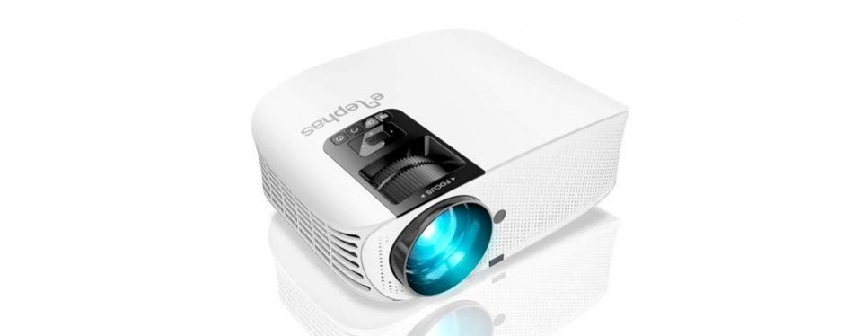 elephas lcd video mini projector