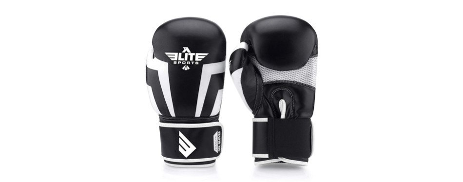elite sports boxing and sparring training gloves