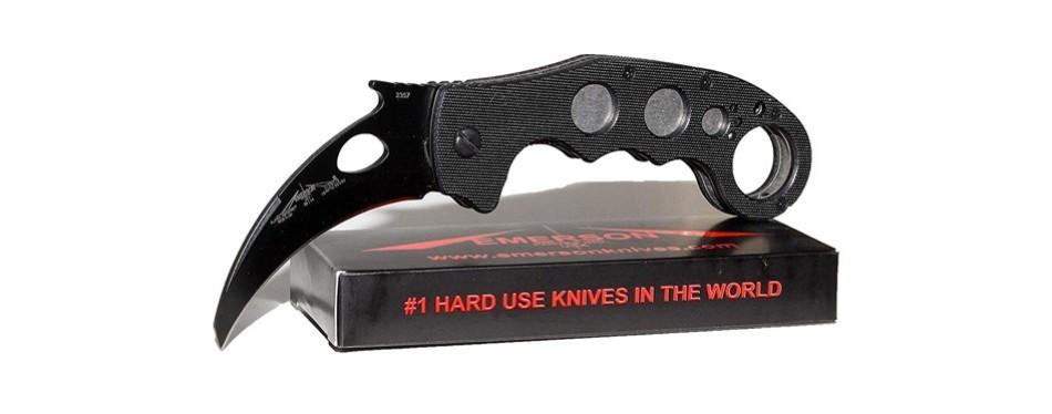 emerson knives combat sf karambit