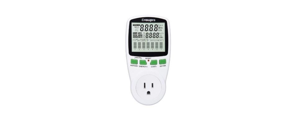 ensupra electricity usage monitor