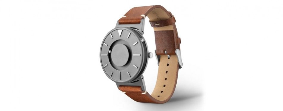 eone bradley titanium classic italian brown leather