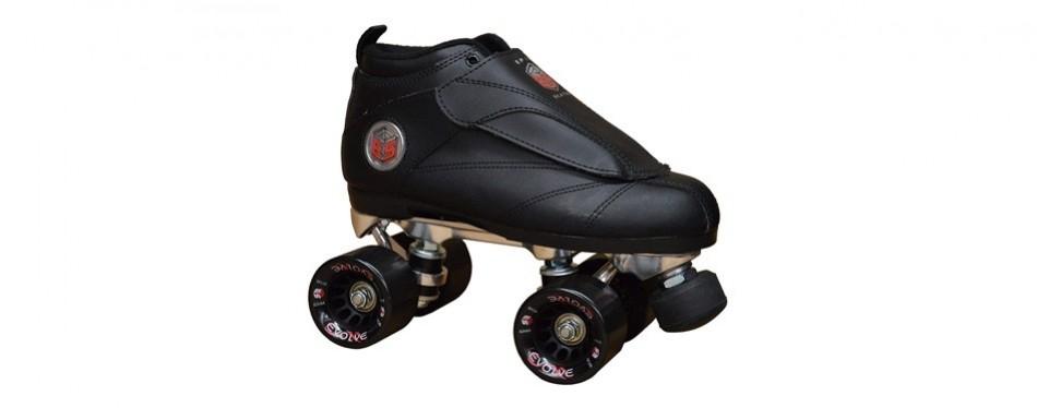 epic roller skates new black evolution