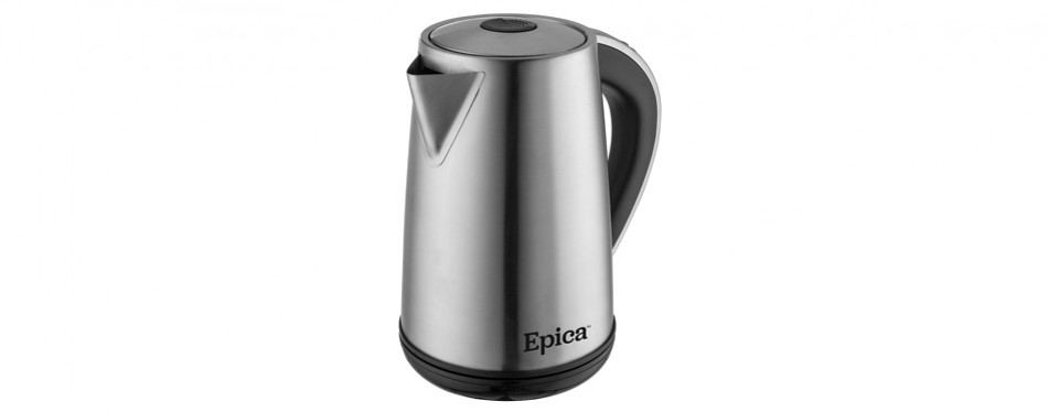 epica stainless steel cordless electric smart kettle