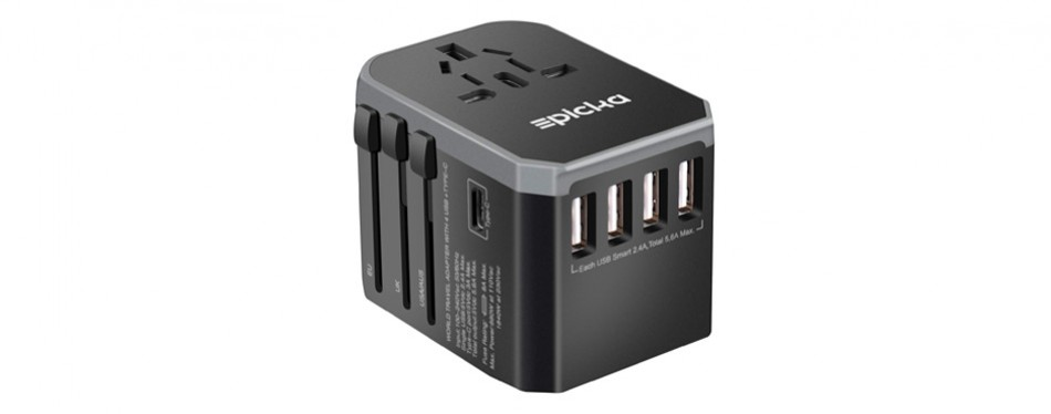epicka universal travel power adapter