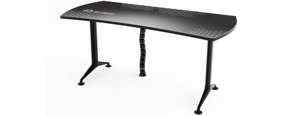ergonomic gaming desk by clutch