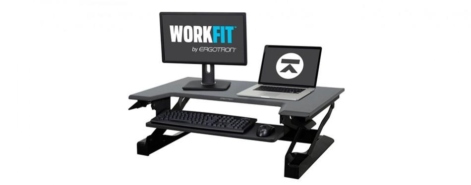 ergotron workfit-t stand