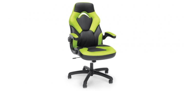 OFM Essentials Racing Leather Gaming Chair