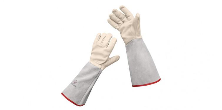 euphoria garden thornproof leather gauntlet gloves