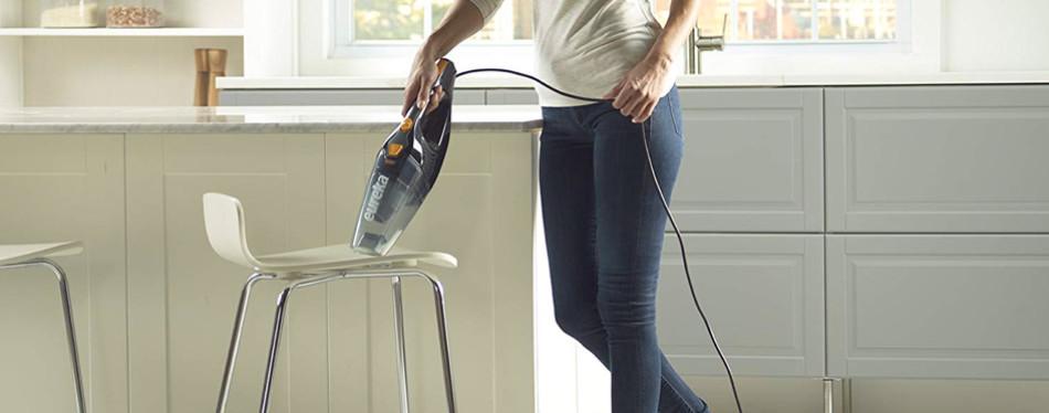 eureka blaze 3-in-1 swivel stick handheld vacuum