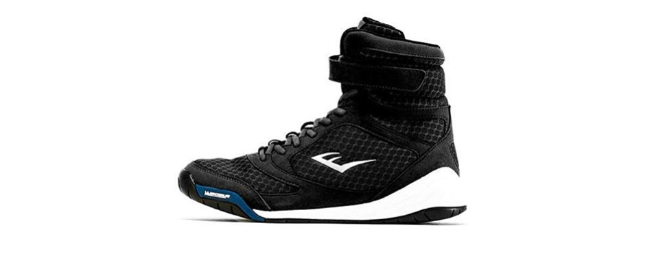 everlast new elite high-top boxing shoes
