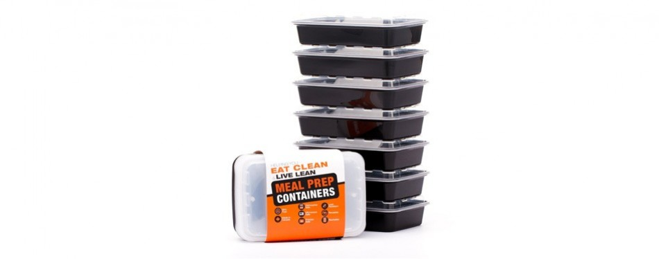 evolutionize healthy meal prep 7 pack meal containers