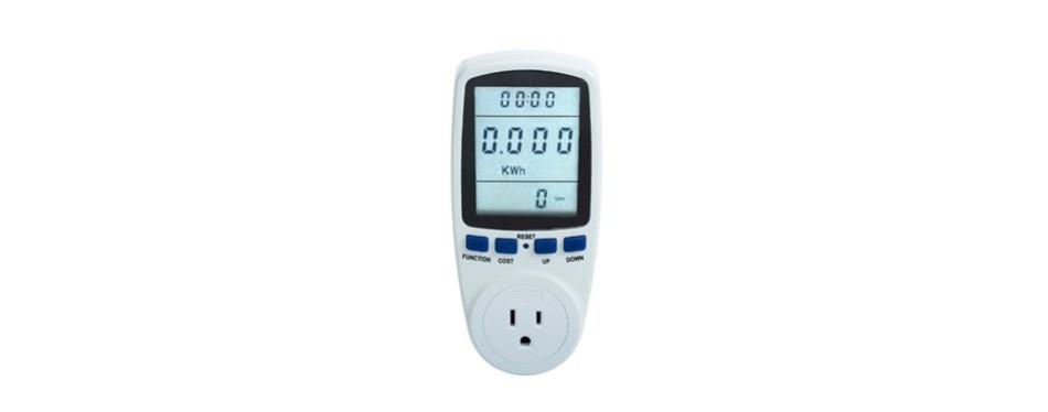 excelvan lcd display smart plug power meter