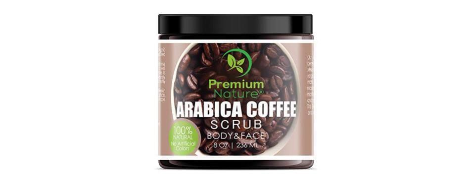 exfoliating arabica coffee body scrub