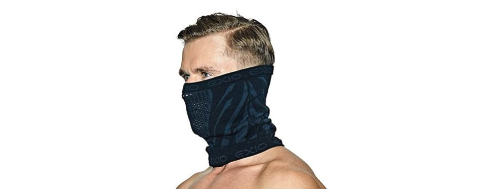 exio winter neck warmer gaiter ski mask