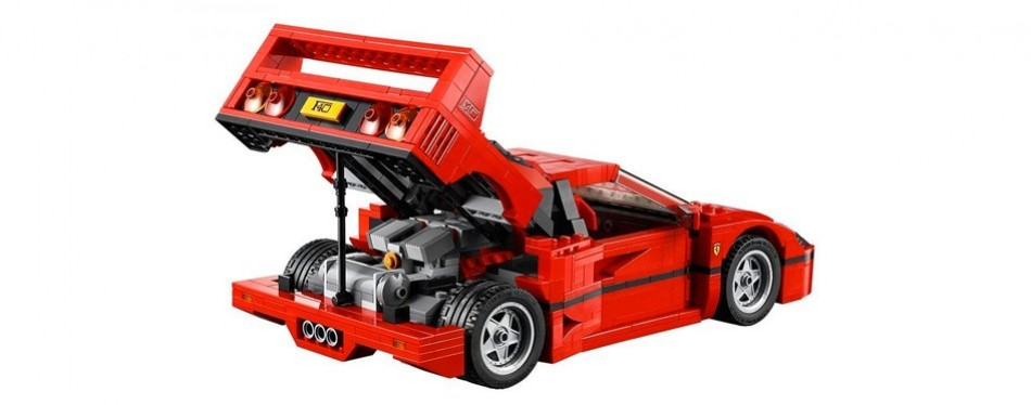 expert ferrari construction lego creator set