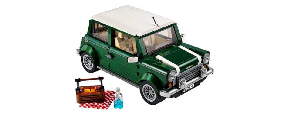 expert mini cooper construction lego creator set