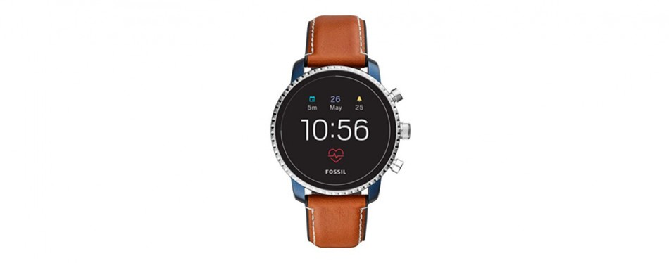 explorist hr stainless steel smartwatch