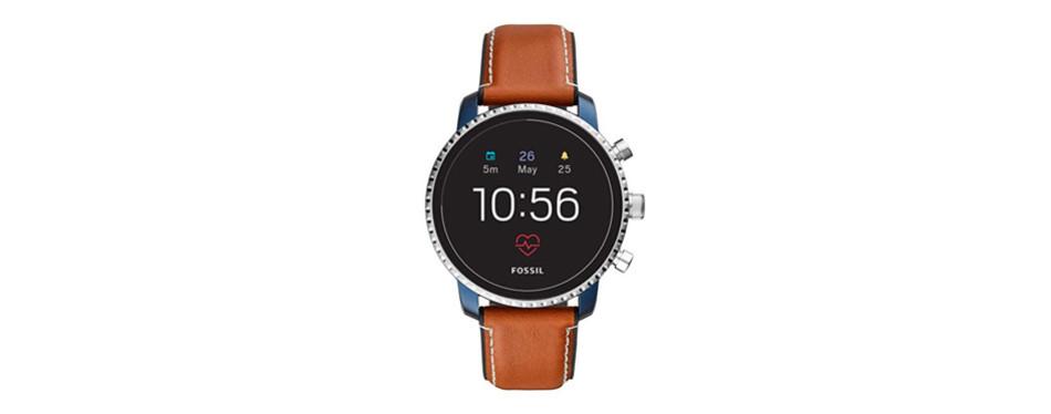 explorist hr stainless steel smartwatch