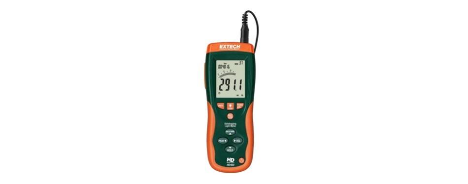 extech hd450 datalogging heavy duty light meter