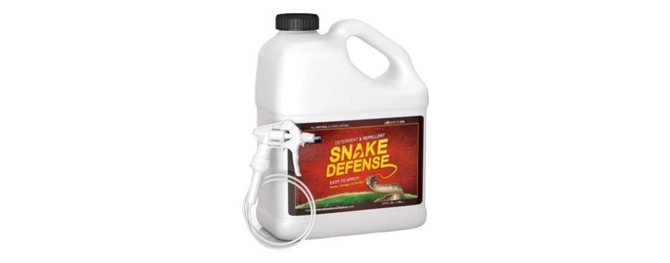 exterminators choice snake defense one gallon spray repellent