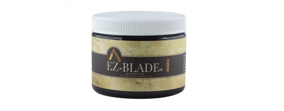 ez blade shaving gel