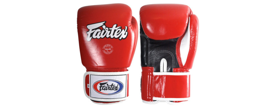 fairtex kickboxing muay thai sparring gloves