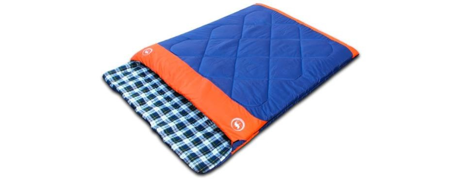 famous juggle double sleeping bag