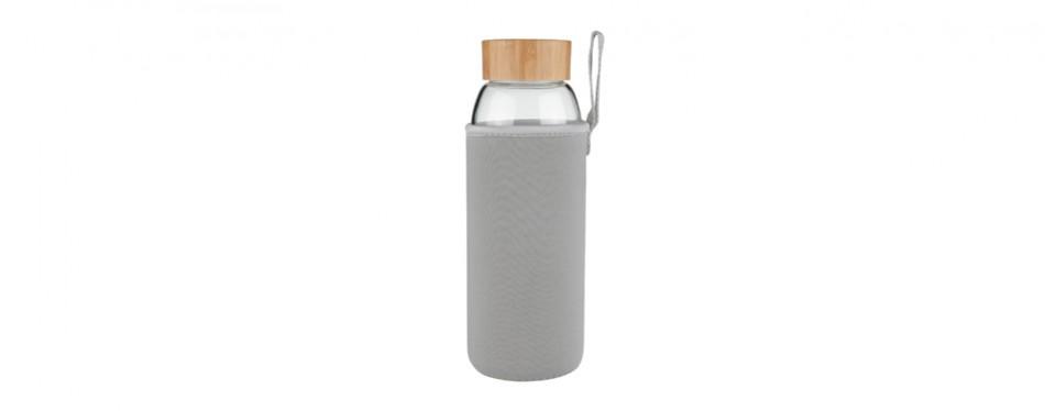ferexer borosilicate glass water bottle