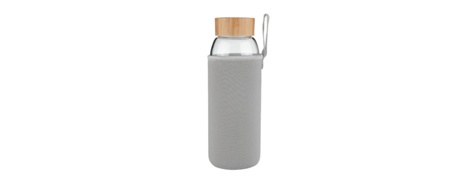 ferexer borosilicate glass water bottle