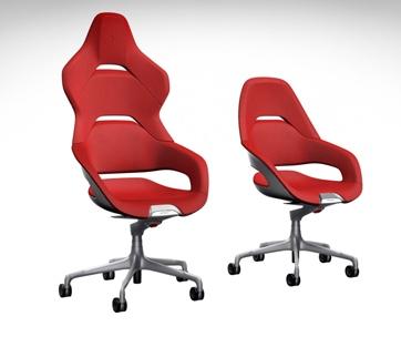 Ferrari x Poltrona Frau Cockpit Desk Chair