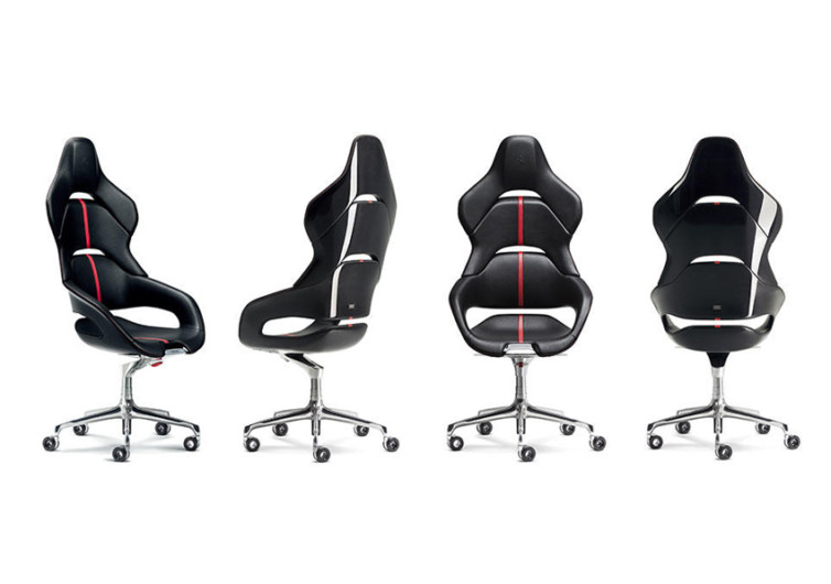 Ferrari x Poltrona Frau Cockpit Desk Chair