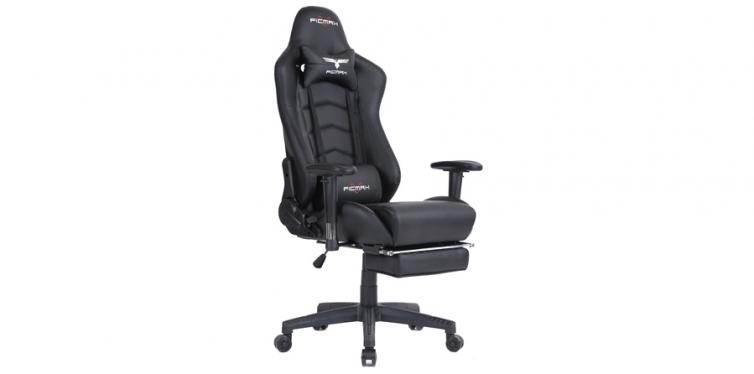 Flicmax Ergonomic All-Black PC Gaming Chair