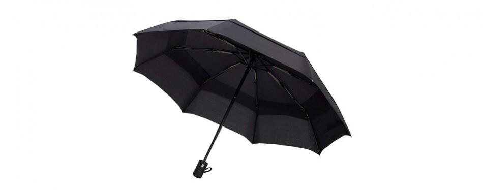 fidus compact automatic travel umbrella